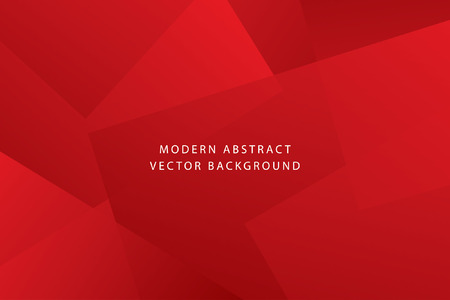 Red bright and luxury dynamic modern abstract. Ilustrace
