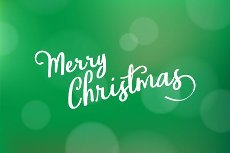 Merry Christmas vector text Calligraphic on modern background