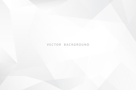White and gray dynamic modern abstract presentation vector background Ilustrace