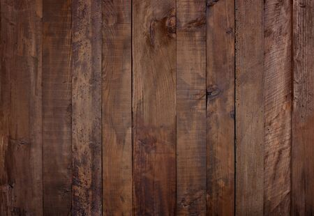 Aged brown wood panel texture background