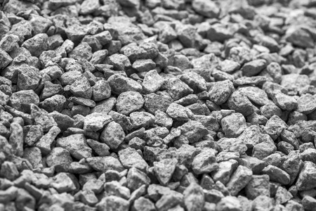 gravel: the gray gravel for the background
