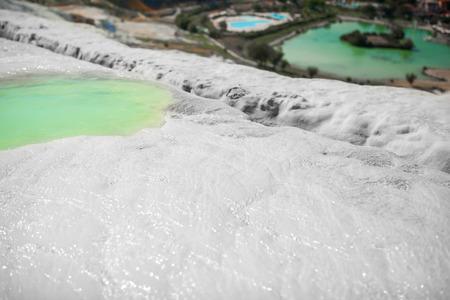 pamukkale: Natural travertine pools and terraces, Pamukkale, Turkey