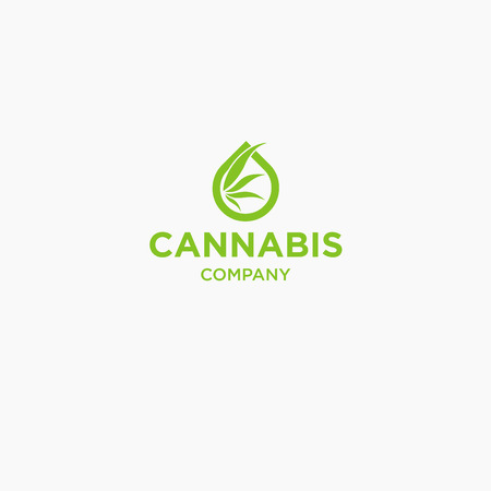 cannabis logo graphics