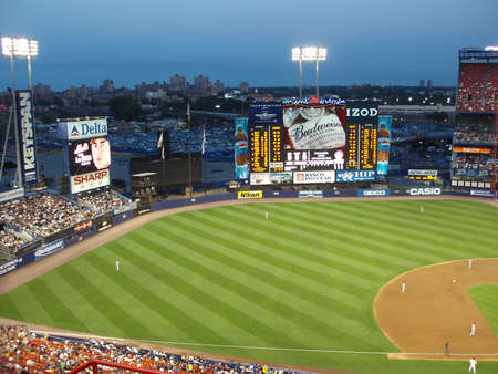 nightime: Stadio Del Karit� De New York