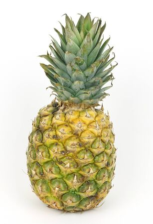 Pineapple isolated in white background