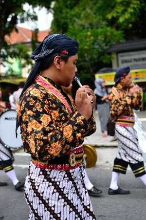 Javaneese traditional music performance Editorial