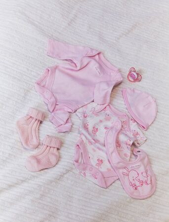 Cute baby cloth pink