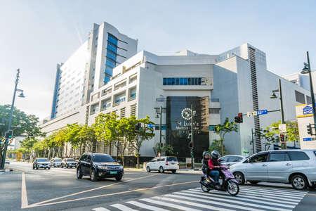 Bonifacio Global City, Taguig City, Aprl 2, 2015: St. Luke's Medical Center at Bonifacio Global City
