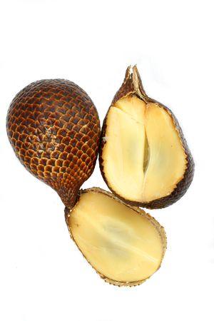 salak: salak fruit or snake fruit Stock Photo