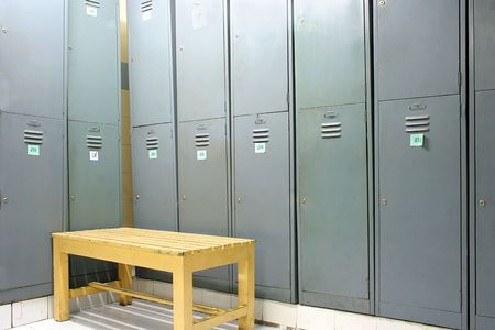 lockers: locker room