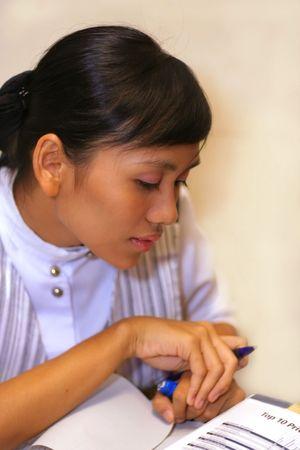 girl at work Stock Photo - 2530649