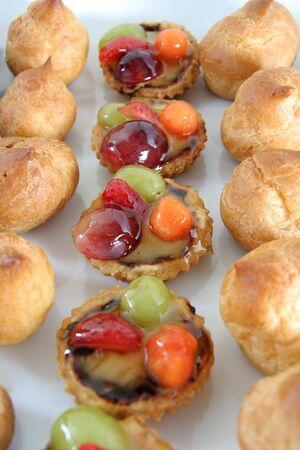 choux: choux y frutas tarlet