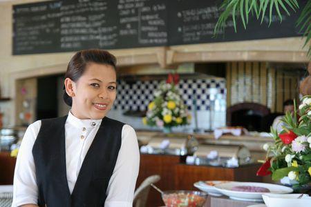 personal del restaurante  Foto de archivo - 3107488