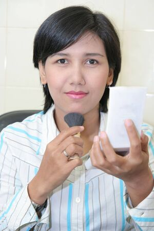 woman make up: Career Woman Make Up in office