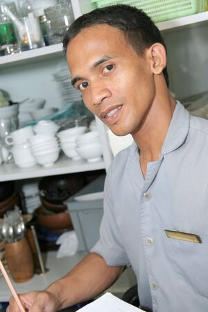 taking inventory: storekeeper