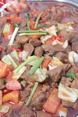 meats: meats food Stock Photo