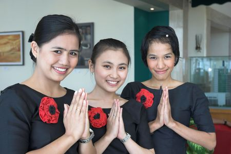 three staff