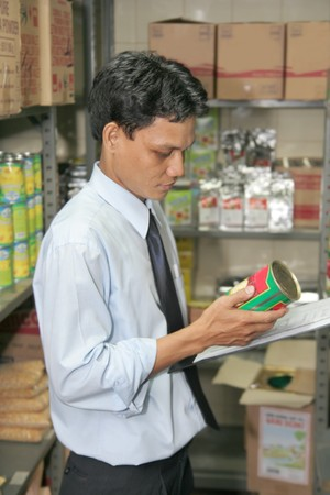 store keeper at work photo