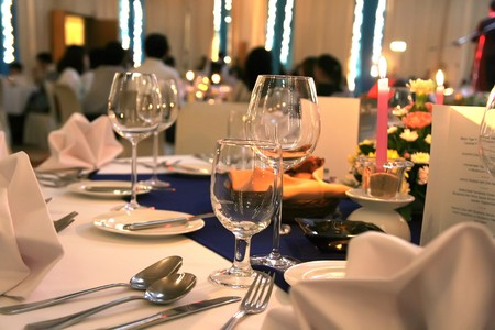 gala dinner Stock Photo - 4038573