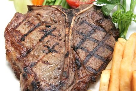 t-bone steak Stock Photo - 4135833