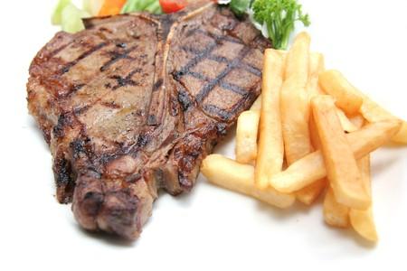 porterhouse: t-bone steak