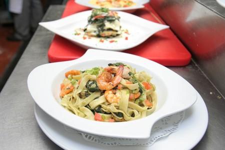marinara: fettuccine marinara seafood