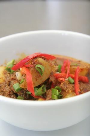 potato curry asia food Stock Photo - 4250479