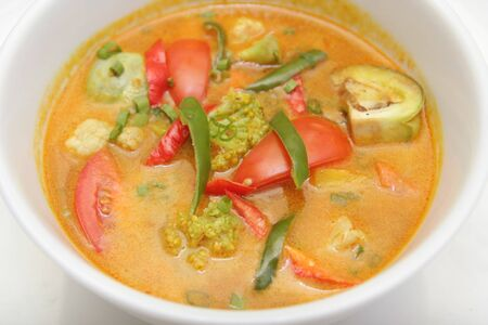 vegetable curry asia food Stock Photo - 4242005