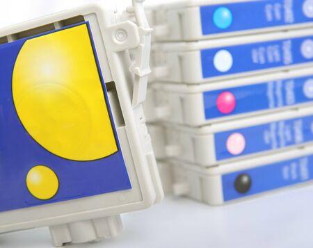 six inkjet rpinter cartridge photo