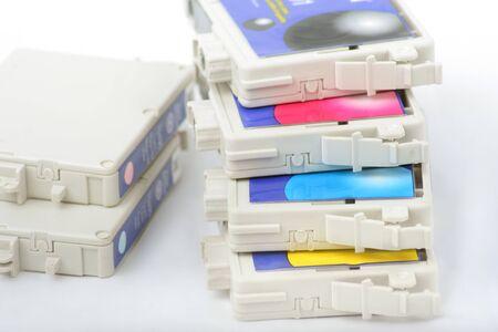 six colors inkjet rpinter cartridge photo