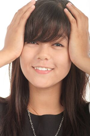 portrait of young asian woman Stock Photo - 4497127