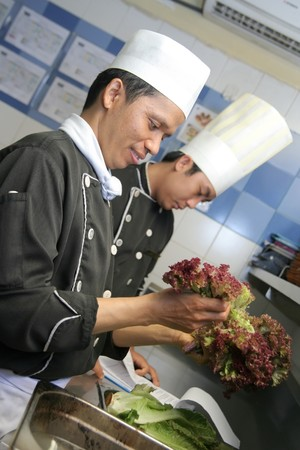 chefs cooking photo