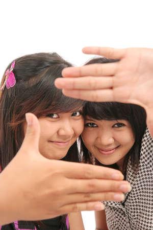 framing finger of good friendship Stock Photo - 4733336