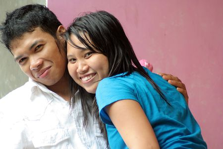 asian couple Stock Photo - 4874329