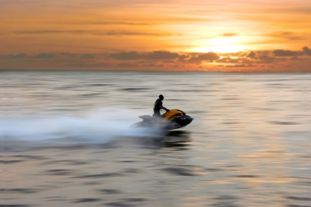 jetski: jetski Stock Photo