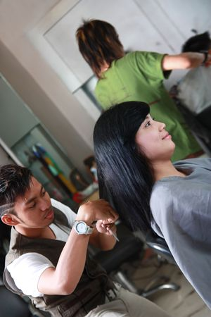 haircut or hairstyle Stock Photo - 5593807