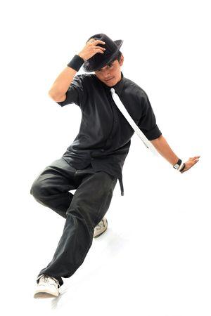 bailarin hombre: bailar�n Foto de archivo