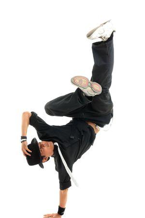 bailarin hombre: bailarina Foto de archivo