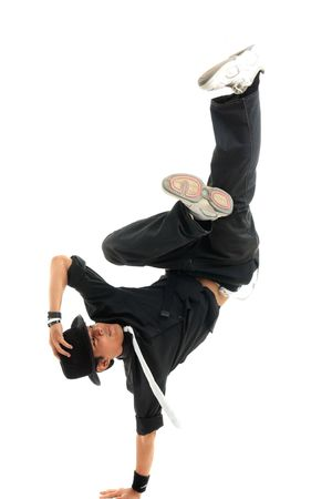 hip hop man: dancer