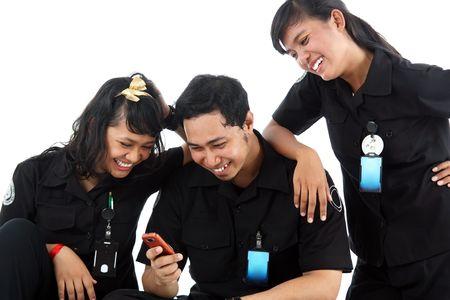 staff in uniform photo