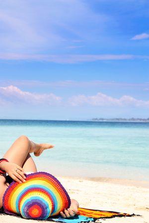 beach vacation photo