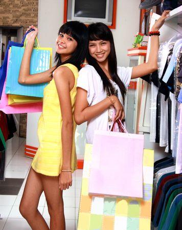 wasteful: shopping Stock Photo