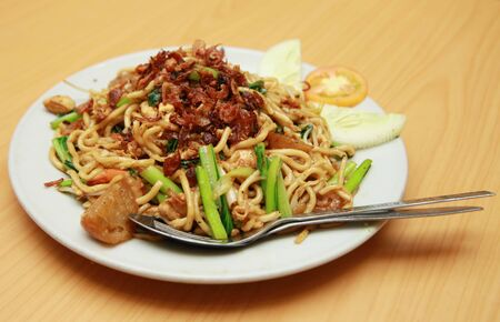 fried noodle asian food Stock Photo - 6582591
