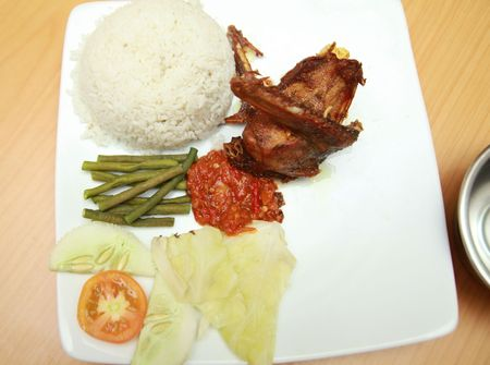 Photograph of fried duck asia food Stock Photo - 6680819