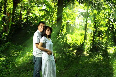 happy couple Stock Photo - 6678457