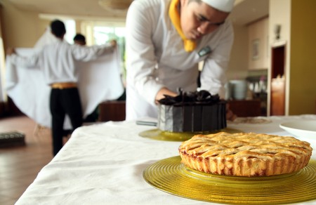 chef pastry Stock Photo - 7586230