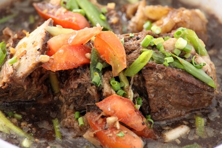 gado: asian food named rendang