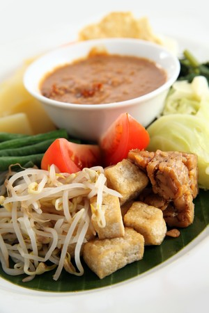asian food named gado-gado Stock Photo - 7583164