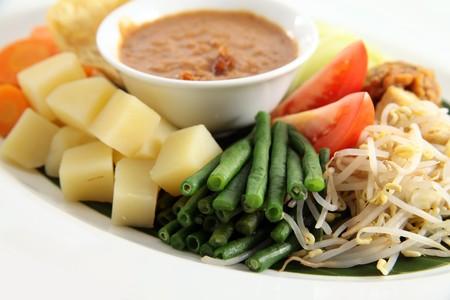 gado: asian food named gado-gado