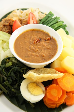 asian food named gado-gado Stock Photo - 7583233